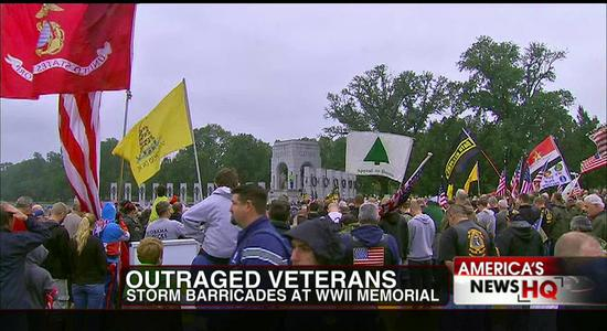 Veterans Band Together in Million Vet March