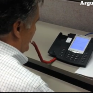 Gov. Mitt Romney Marvels at VictoryVoIP Technology