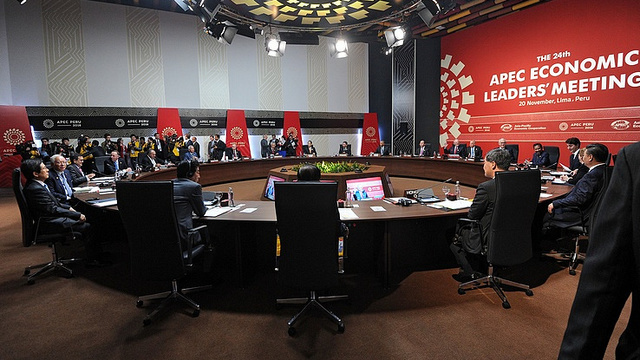 APEC leaders call for transparency of energy markets