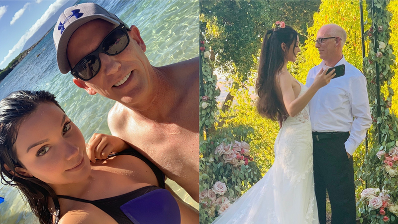 Pro-Trump Dilbert Creator Marries Model Half His Age — Haters Have a Meltdown