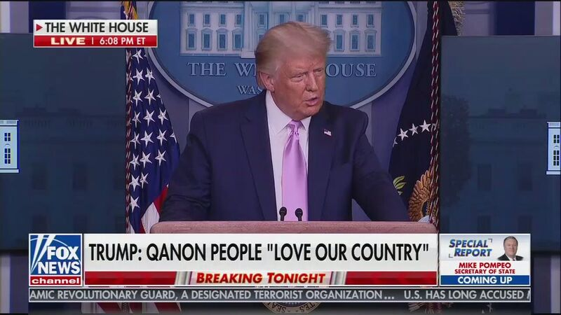 QAnon Supporters Respond to Stunning Trump Press Conference: He Just 'Confirmed Q Is Real'