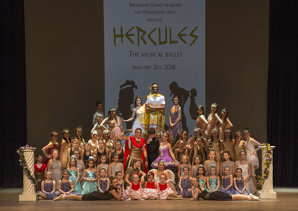 The Cast of Hercules: The Musical Ballet