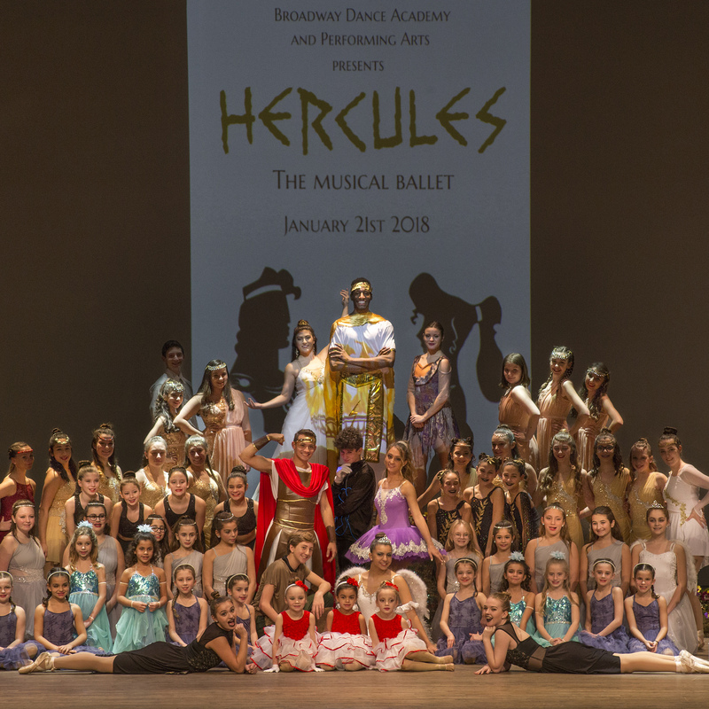 Hercules: The Musical Ballet 2018