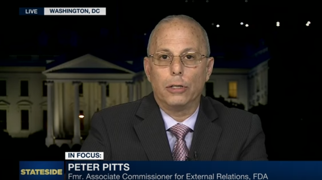 Peter Pitts on Healthcare Bill's Passage in US House