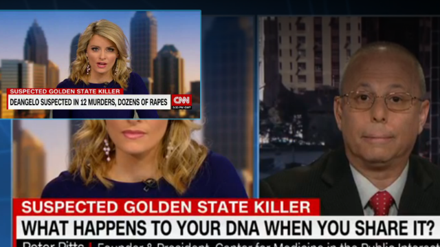 Peter Pitts on CNN: What happens to your DNA when you share it?