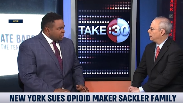Peter Pitts discusses New York lawsuit against Opioid manufacturer on i24NEWS
