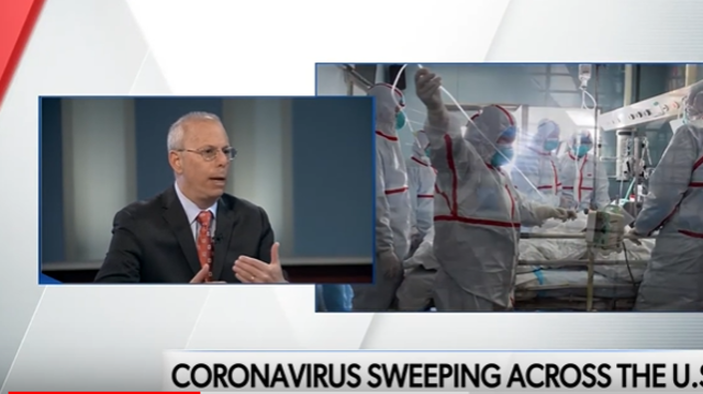 Coronavirus sweeping across the U.S.