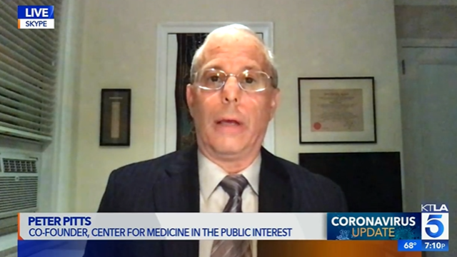 Former FDA Associate Commissioner Peter Pitts says we should be 'cautiously optimistic' about the early positive results from Moderna vaccine
