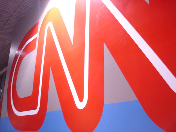 CNN cuts away from TRUMP SPEECH after crowd SHOUTS 'CNN SUCKS'