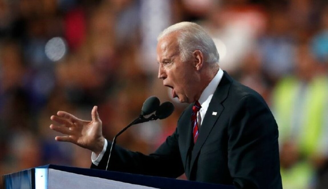 BIDEN CALLS SKEPTICAL NEW HAMPSHIRE VOTER 'A LYING, DOG-FACED PONY SOLDIER'