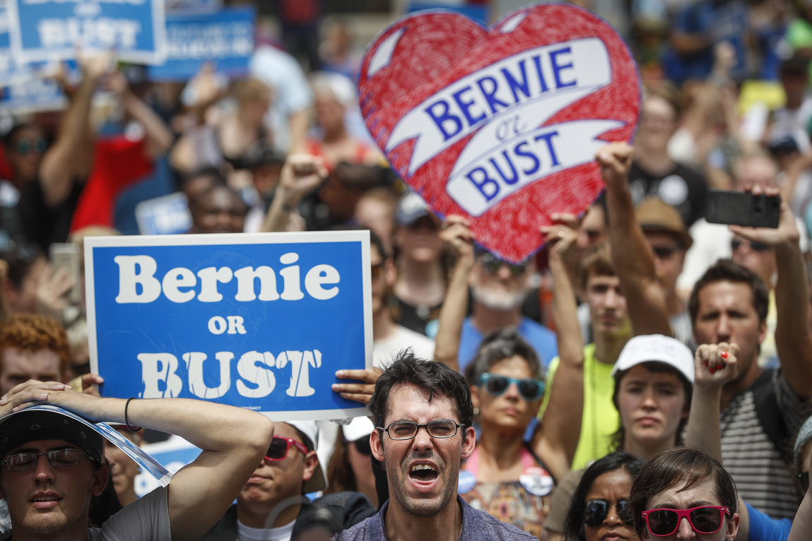 Feeling the Bern: New Hampshire narrowly goes for Sanders