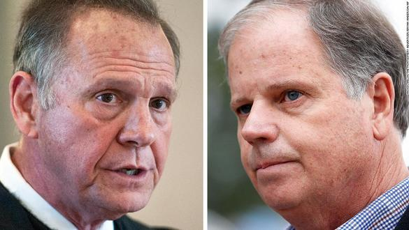 Everything You Need to Know about Roy Moore, Doug Jones, and the Alabama Senate Vote Tonight