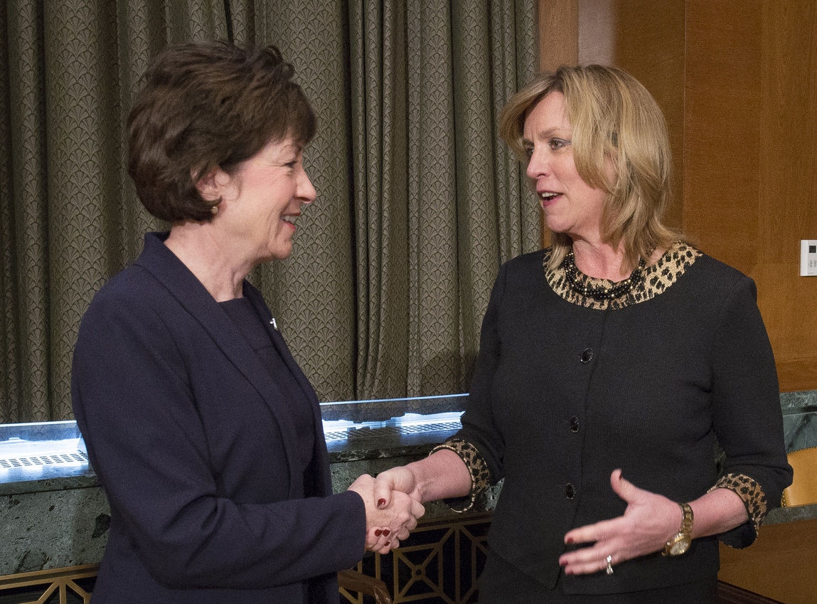 It's Susan Collins's Moment
