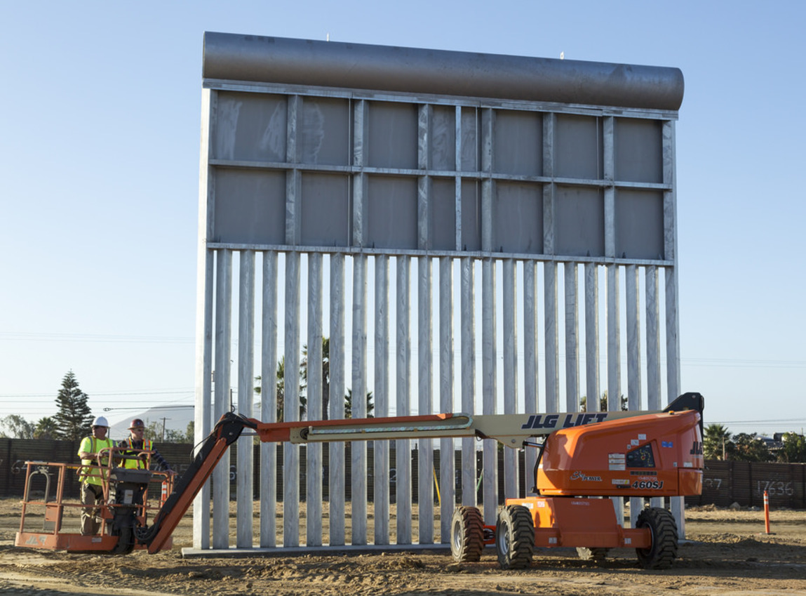 Vote for the Wall on November 6
