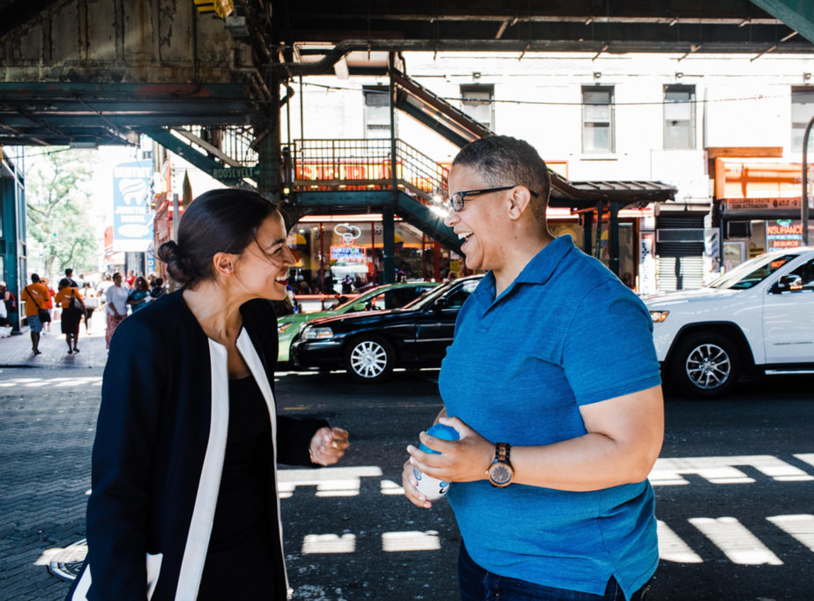 It's the Ocasio-Cortez party now — Nancy Pelosi is just leading it