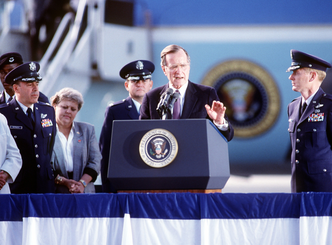 George H.W. Bush and a letter to live by