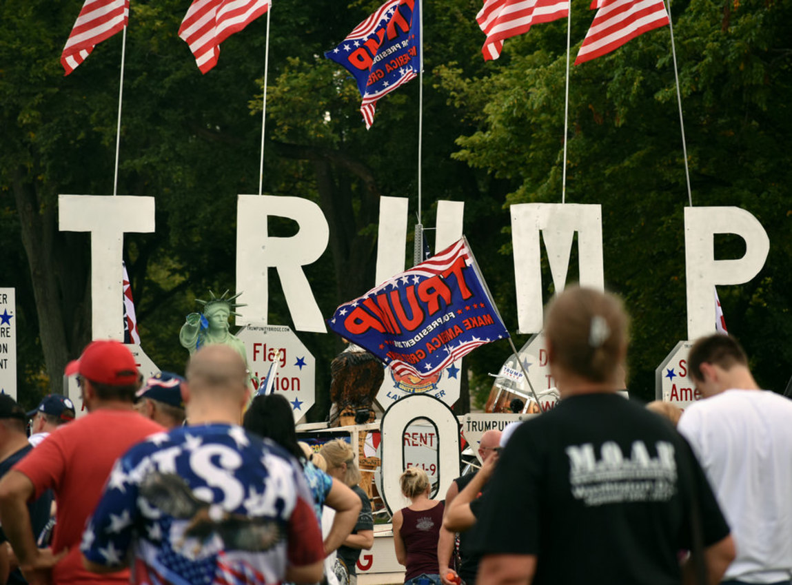 Republicans using MAGA rallies to build Trump army for 2020