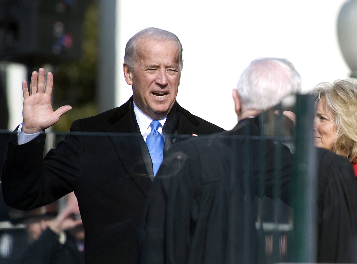Is Biden the Democratic front-runner by default?