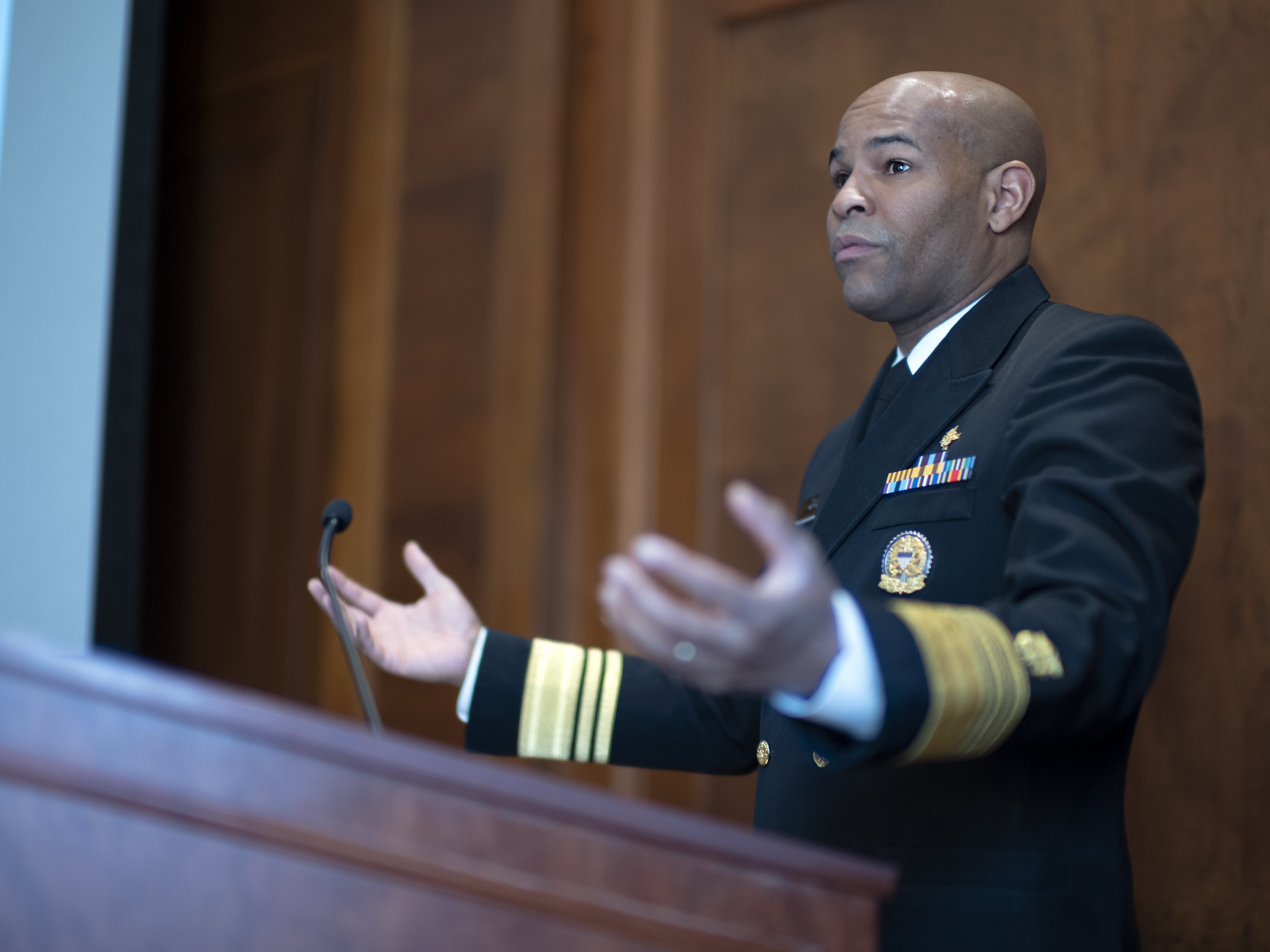 Surgeon General Jerome Adams 'absolutely' expects lower death toll from coronavirus outbreak