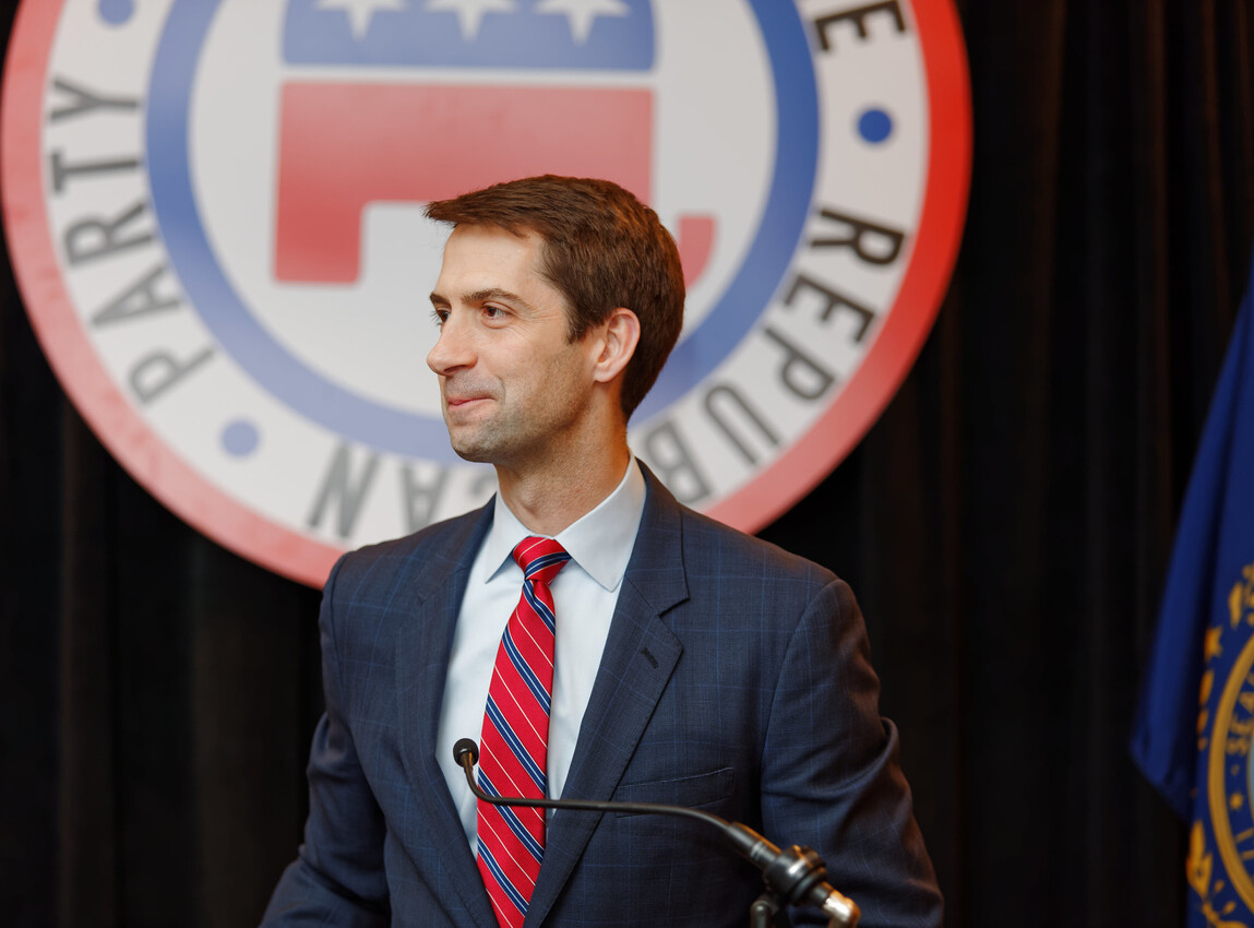 Tom Cotton Gives the Republican Party Some Advice They Had Better Not Ignore