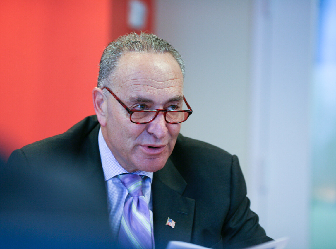 Schumer, McConnell spar over Dems' S1 election bill during rare committee appearance: 'Shame!'
