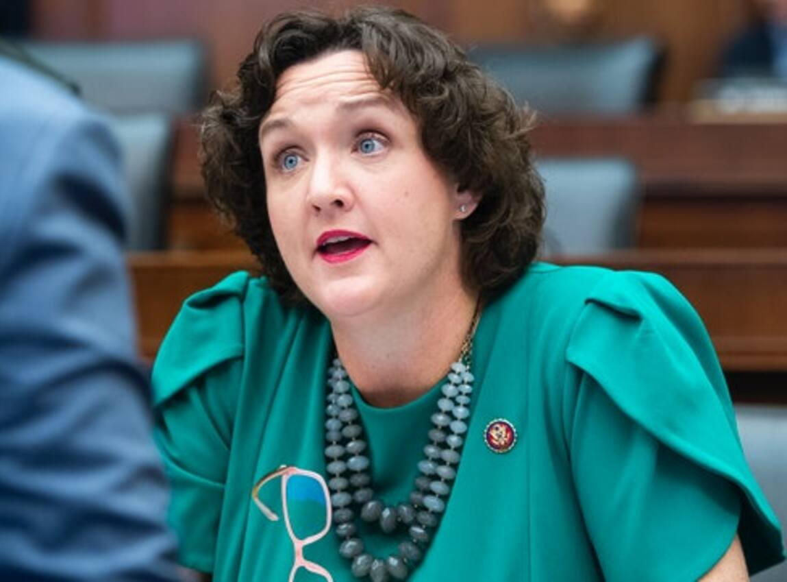 Fight breaks out after Democratic Rep. Katie Porter's supporters confront 'America first' protesters