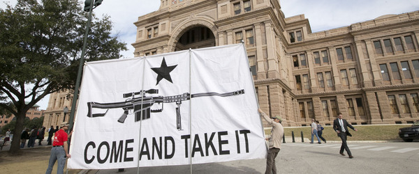 Gun Rights' Groups to Texas Pols: Grow a Spine on Open Carry