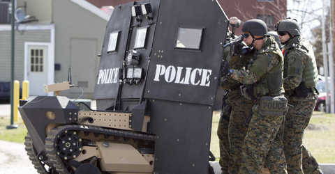 Federal Militarization Of Police Can Be Ended, Without Waiting For The Federal Government