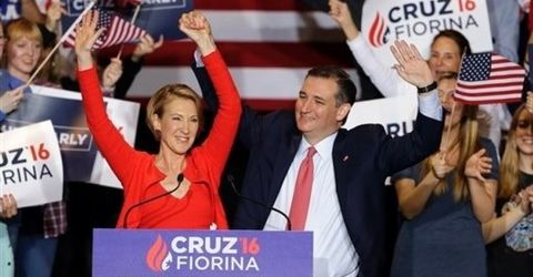 Ted Cruz ups the ante with Fiorina as running mate