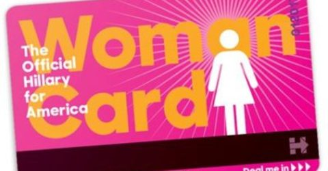 Hillary offers 'woman card' to supporters as campaign focuses on gender