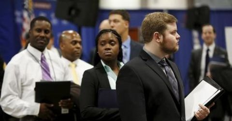 U.S. jobless claims rise; planned layoffs surge