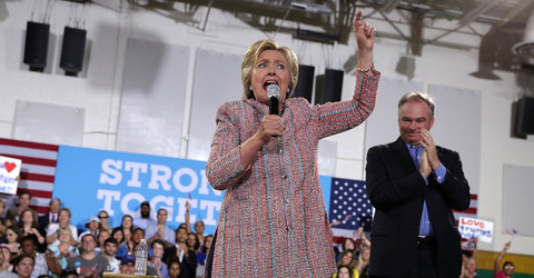 Hours Before Hillary Clinton's VP Decision, Likely Pick Tim Kaine Praises the TPP