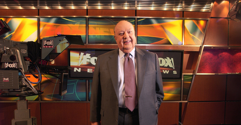 Ailes is out as Fox News head, Murdoch named acting chief