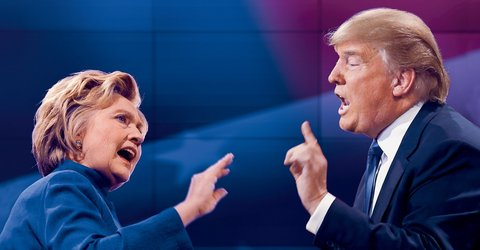 Clinton and Trump couldn't be further apart on abortion