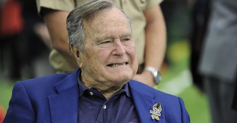 George H.W. Bush to Trump: Doctor says going to inauguration could 'put me six feet under'