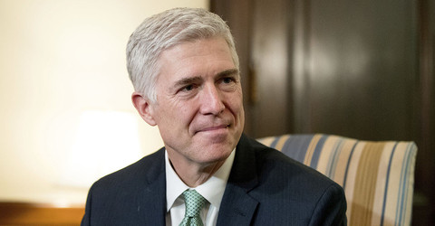 Conservatives take a leap of faith on Gorsuch