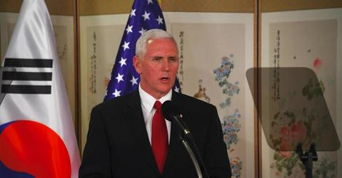 Pence: U.S. Is Done Being Patient With North Korea