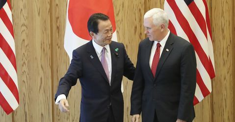 Pence Pushes Allies on Trade After Reassuring on North Korea