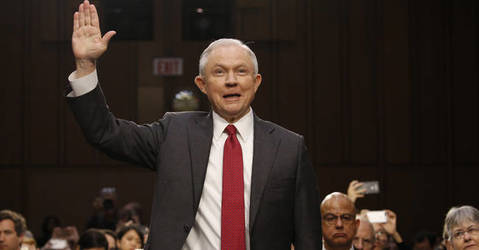 Sessions calls allegations of collusion with Russia an 'appalling and detestable lie'