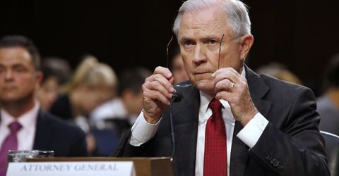 Jeff Sessions takes the gloves off
