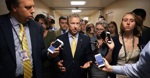 Rand Paul Goes to War Against Graham-Cassidy Health-Care Bill