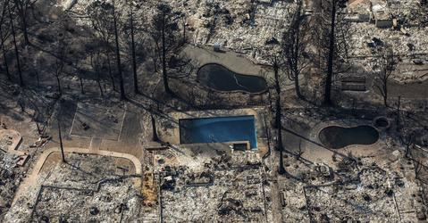 Whole towns evacuated as Northern California firestorm grows; at least 23 people dead, 285 missing