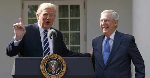 Trump and McConnell Make Nice in Unity Display