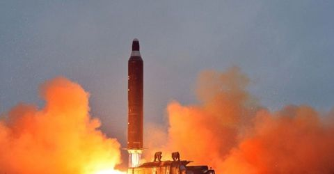 North Korea fires ICBM into Japanese waters