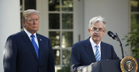 Powell Casts Himself as a Figure of Stability for the Fed