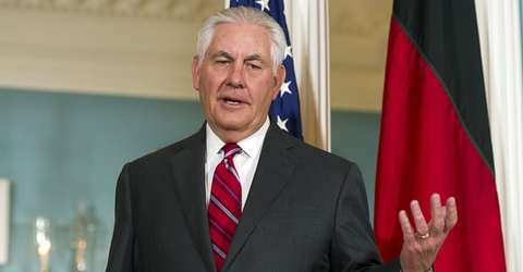 State department denies Rex Tillerson is being replaced as Trump reveals little