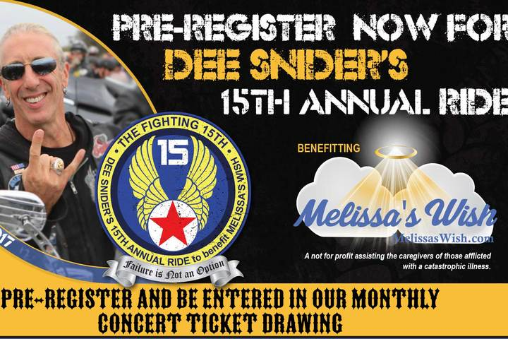 Pre-Register and be entered to win concert tickets