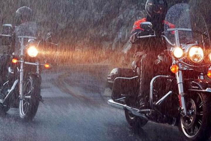 Safe Motorcycle Riding in the Rain