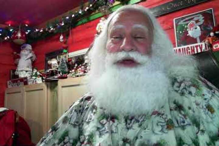 Santa Claus talks about this year's ride.