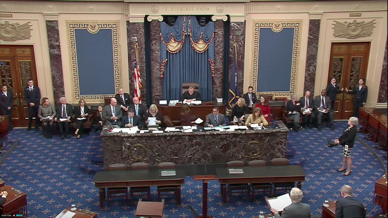 Senate And John Roberts Face Possibility Of Epic Tie On witnesses